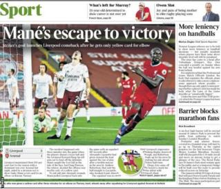 Times back pages