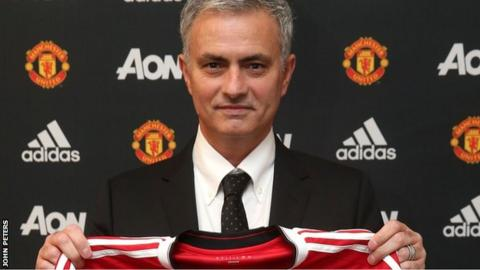 Mourinho has an option to stay at the club until at least 2020