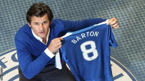 Image result for joey barton rangers