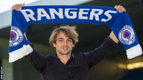 Niko Joins Rangers [Photo: SNS Group]