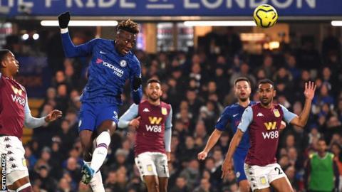 Chelsea 2-1 Aston Villa: Tammy Abraham scores