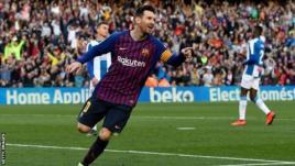 Lionel Messi scored 36 of Barcelona's 90 La Liga goals last season