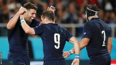Adam Hastings and George Horne were the heroes for Scotland against Russia