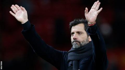 Quique Sanchez Flores will leave Watford