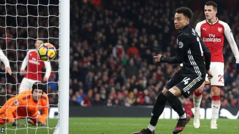 Lingard's second arrived as Arsenal were beginning to build on Lacazette's goal