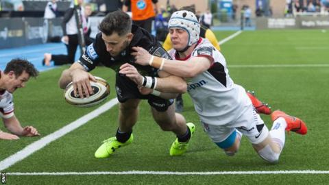 Tommy Seymour gave Glasgow Warriors the perfect start