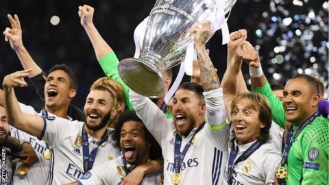 Image result for Champions League draw: Juventus face Madrid, City to meet Liverpool