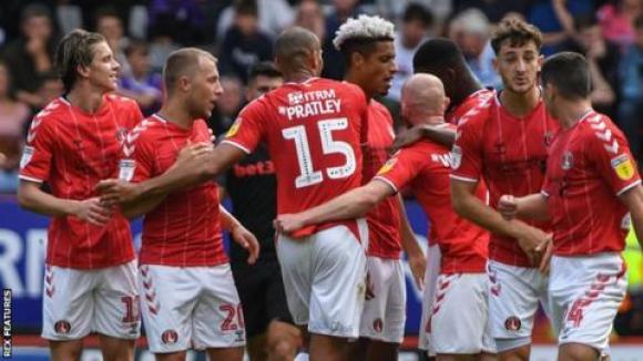 Charlton Athletic 3-1 Stoke City: Chuks Aneke hits debut goal for ...