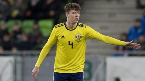 Celtic and Scotland defender Jack Hendry
