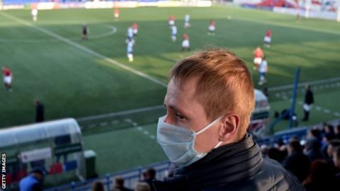 FC Minsk fans