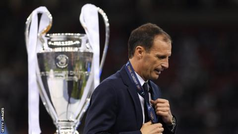 Juventus boss Massimiliano Allegri