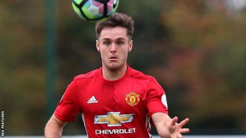 Joe Riley Sheffield United Sign Manchester United Full