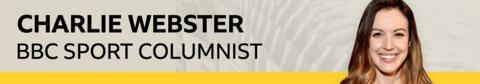 sport Charlie Webster banner