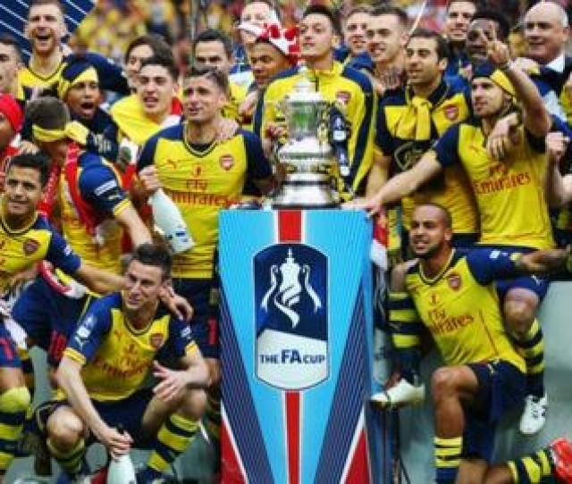 Arsenal Won The Fa Cup In