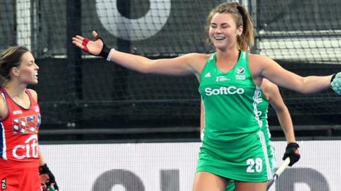 Image result for Hockey Women's World Cup: Ireland stun USA in London opener