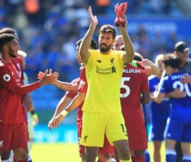 Liverpool Goalkeeper Alissons Error Allowed Rachid Ghezzal To Score A Consolation Goal For Leicester