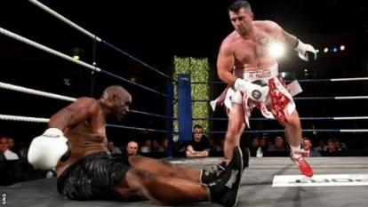 Image result for Mike Tyson's Conqueror Danny Williams Retires After Losing to Lee McAllister