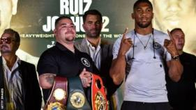 Andy Ruiz and Anthony Joshua will speak at three news conferences in three days