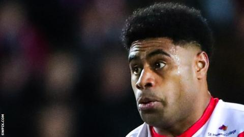 Kevin Naiqama has scored six tries for St Helens since joining from NRL side Wests Tigers from the start of this season