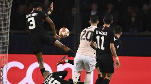 Image result for kimpembe handball