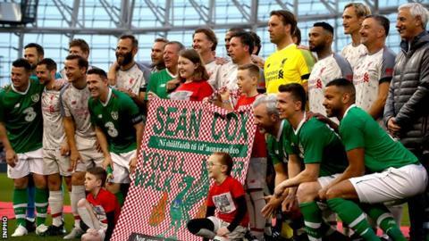 Liverpool and Republic of Ireland legends