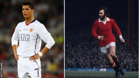 george best v cristiano