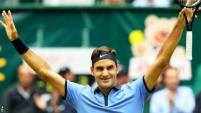 Image result for Federer beats Zverev to win Gerry Weber Open in Halle