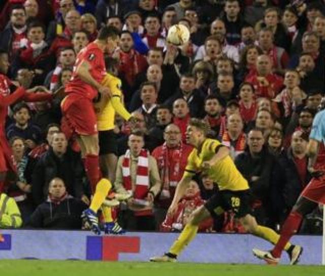 Dejan Lovren Scores Liverpools Winner Against Borussia Dortmund