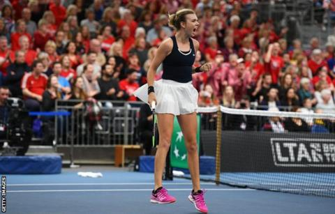 Image Result For Fed Cup Johanna Konta Katie Boulter Win To Give Great Britain Victory Over Hungary
