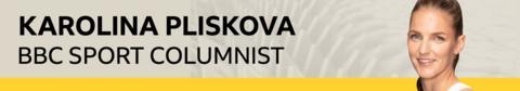 Karolina Pliskova column graphic