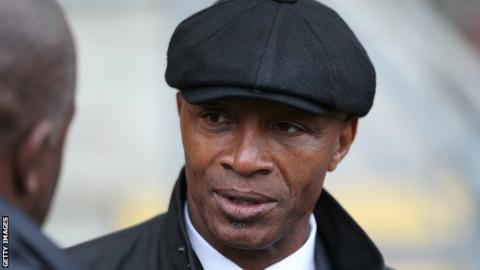 Former West Brom and England forward Cyrille Regis