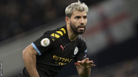 sport Manchester City's Sergio Aguero
