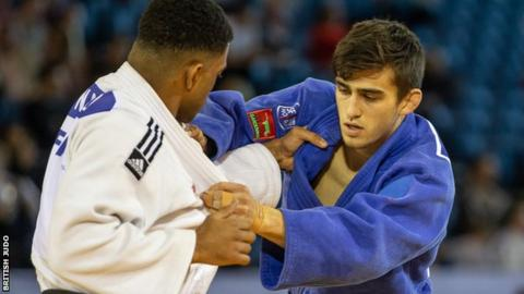 Alexander Short in action at the European Open