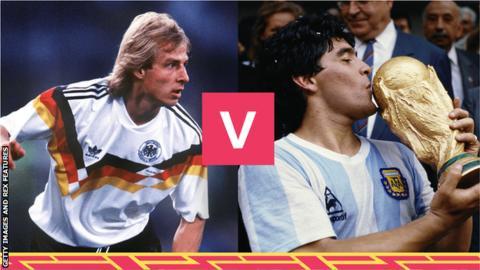 West Germany 1990 v Argentina 1986