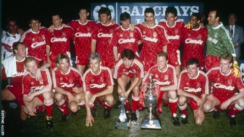 Liverpool's title-winning team of 1990