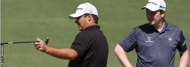 Robert MacIntyre (right) took advice from 2018 Masters champion Patrick Reed