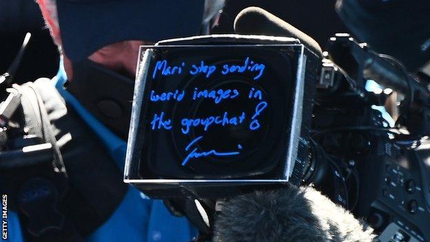Naomi Osaka's camera message to her sister