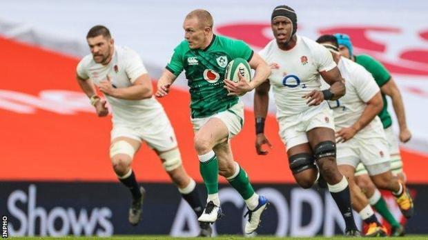 Keith Earls ran in a superb opening Ireland try