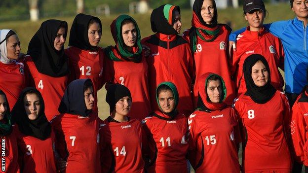 , Around 100 female Afghan players evacuated to Qatar, The Evepost BBC News