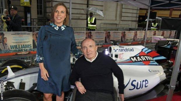Claire Williams and Sir Frank Williams