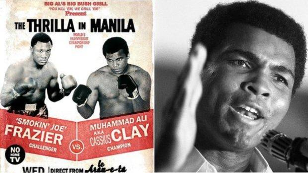 The fighters shared a three-fight rivalry and Frazier was incensed by some of the insults Ali sent his way
