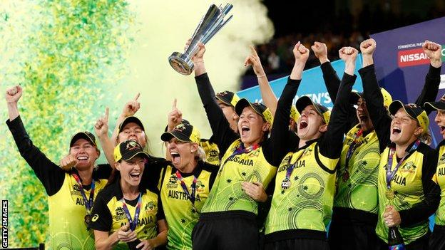 Australia win the Women's T20 World Cup