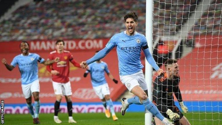Man Utd 0-2 Man City: Pep Guardiola's side reach Carabao Cup final - BBC  Sport