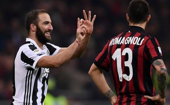 Ac Milan 0 2 Juventus Bbc Sport