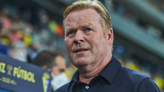 , Barcelona held as under-pressure Koeman sent off, The Evepost BBC News