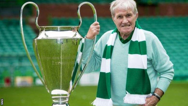 European Cup winner Bertie Auld, 83, remains a hugely popular figure among Celtic fans