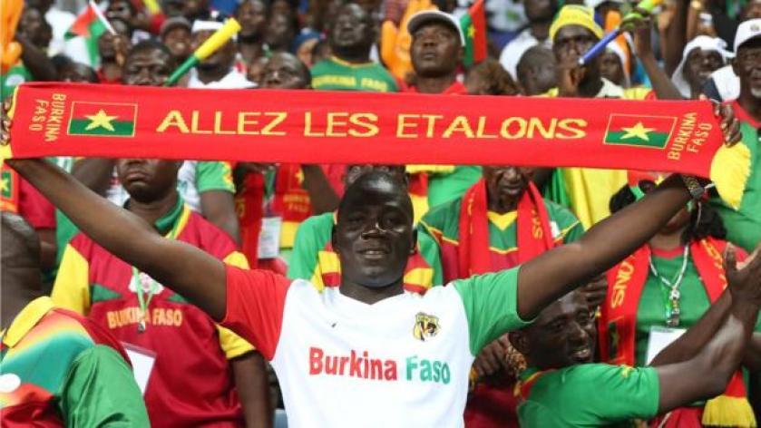Burkina Faso fans
