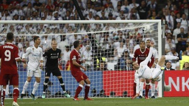 Bale's overhead kick