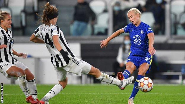 , Harder seals fine Chelsea Women's Champions League win at Juventus, The Evepost BBC News