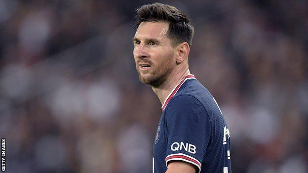, Lionel Messi: PSG forward not in squad to face Metz because of knee injury, The Evepost BBC News